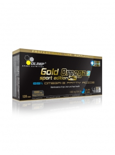 Olimp - Gold Omega 3 Sport Edition (120 Caps)