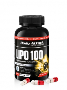 Body Attack - Lipo 100 (120 Caps)