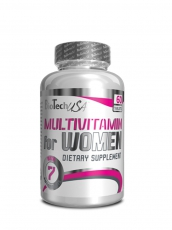 BioTech USA - Multivitamin Women (60 Caps)